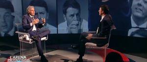 Renzi torna all'Arena: Giletti gli prepara il salotto. Un altro spot come a maggio?