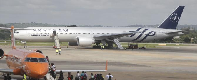 Torna il terrore: un volo Air France atterra a Mombasa, ma la bomba non c'era…