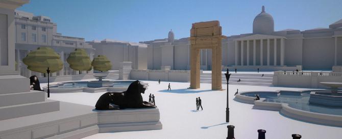Sfida all'Isis, l'Arco di Palmira rivivrà a Londra e a New York: ecco come