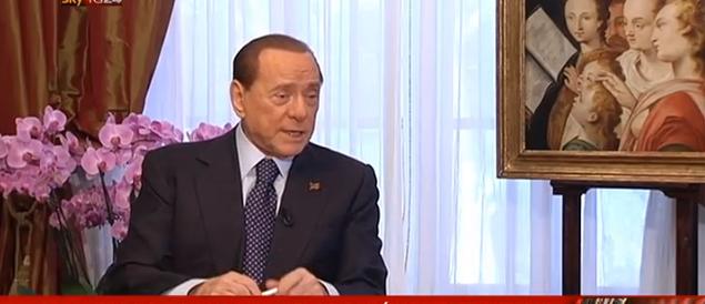 Berlusconi: «Torno in campo per far vincere il centrodestra»