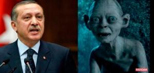 Erdogan gollum 2