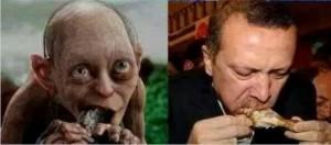 Erdogan gollum 3