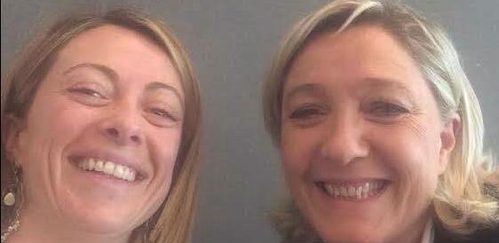 Dalla Meloni complimenti alla Le Pen: «La vera battaglia sarà per l'Eliseo»
