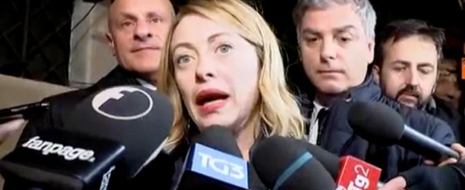 Presepe di Fratelli d'Italia a Roma. Meloni: «Difendiamo la nostra identità» (VIDEO)