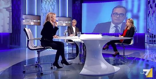 Meloni: «Il Natale va difeso, è un nostro simbolo. Putin? Meglio di Renzi»