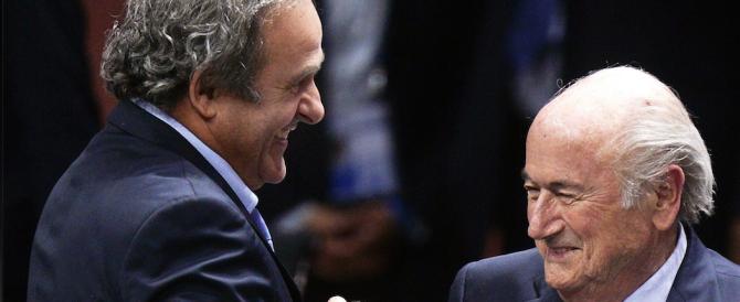 Consulenze d'oro, mano pesante della Fifa: squalifica di 8 anni a Platini e Blatter