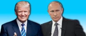 """Il Cremlino brinda all'""""abbraccio"""" tra Putin e Trump: «Faranno grandi cose»"""