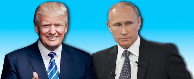 Usa, Trump elogia Putin e rilancia: «Combatterò l'Isis insieme a Mosca»