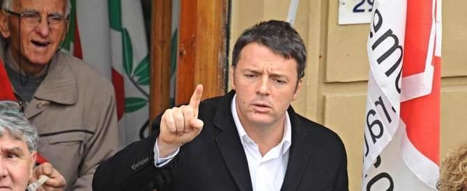 La paura fa 90. E Renzi manda i suoi in piazza a propagandare l'ottimismo
