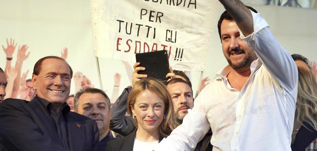 Salvini chiama Berlusconi e Meloni: «Ora il programma del centrodestra»