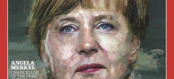 """Merkel persona dell'anno del """"Time"""". Al secondo posto il Califfo dell'Isis"""
