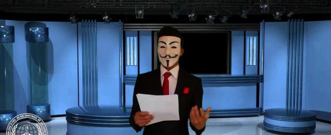 L'ombra del terrorismo sull'Italia: dopo il tweet Anonymous annuncia un video