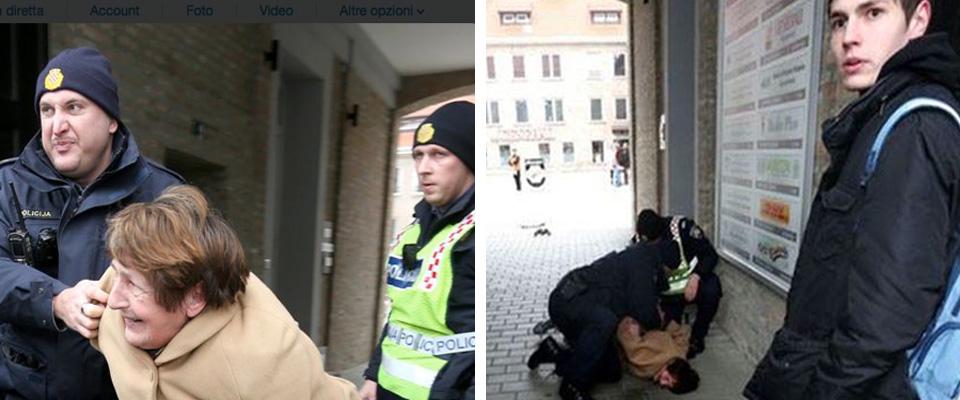 anziana arrestata croazia