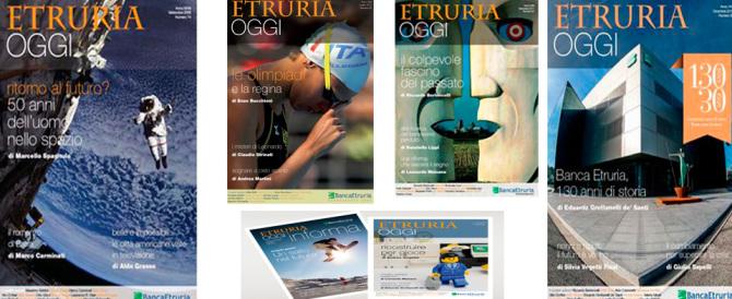 Il gotha dei giornalisti in fila per scrivere sulla rivista di Banca Etruria