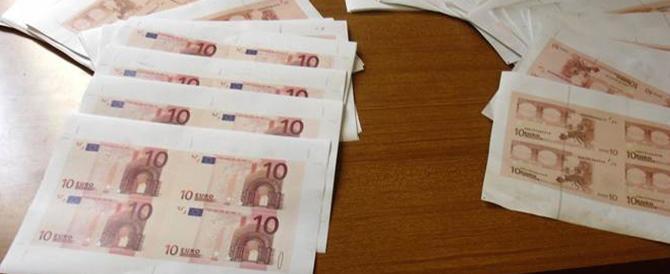 Stampavano a casa euro e documenti falsi: denunciata una famiglia di slavi