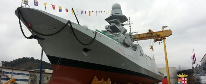 Intitolata a Luigi Rizzo, «l'Affondatore», la nuova fregata della Marina