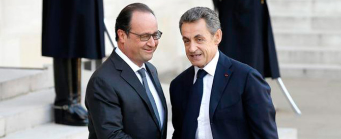 Non sanno più come fermare Marine Le Pen: Hollande e Sarkozy tremano