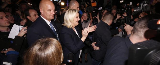 Marine Le Pen in festa: «Nessuno fermerà la volontà del popolo»