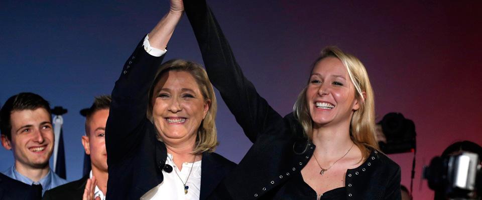 Esultano Marine e Marion Le Pen: «Vittoria. Ora dalla Brexit alla Frexit»