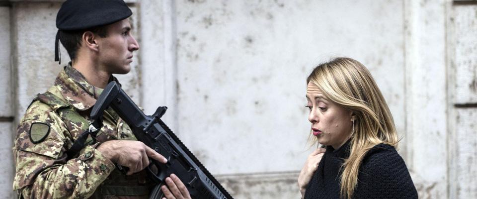La Meloni attacca il duo Alfano-Renzi e scatena il delirio della Castaldini