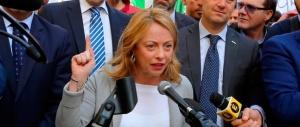 Giorgia Meloni: «Le ammucchiate non piacciono alla gente» (video)