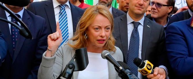 Giorgia Meloni: «Il Ttip darà il colpo di grazia all'Italia e alla nostra dignità»