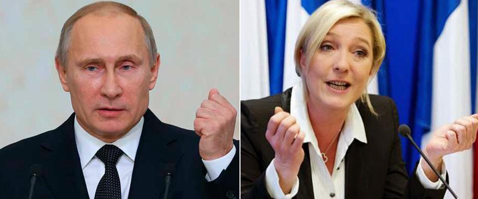Sondaggi: Putin e Marine Le Pen i leader più amati. E non solo a casa loro