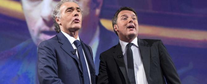 """Renzi in Rai anche la domenica. E il web ride: """"Giletti sembrava Fracchia"""""""