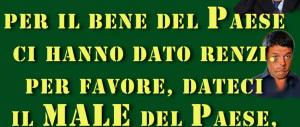 «Renzi dice balle, deve andarsene a casa»: tutti contro lo show del premier