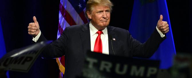 """Donald Trump """"re"""" dei repubblicani: nei sondaggi per le primarie sfiora il 40%"""