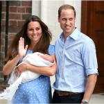 """La nascita del primo """"Royal Baby"""".  (Foto Twitter, Wikipedia)"""