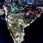 L'India vista da cielo? Sì, ma le luci sono false. (Foto Twitter)