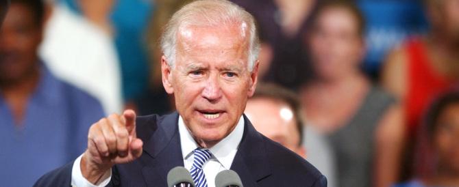 Biden: «Usa pronti a intervenire in Siria». Ed è polemica con Mosca