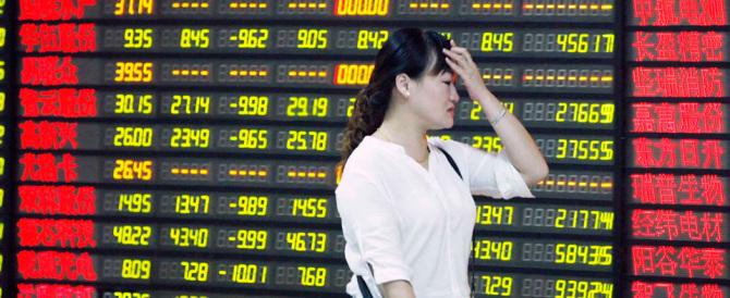 La Cina non è pronta alla sfida della libera economia. È il motivo del crollo