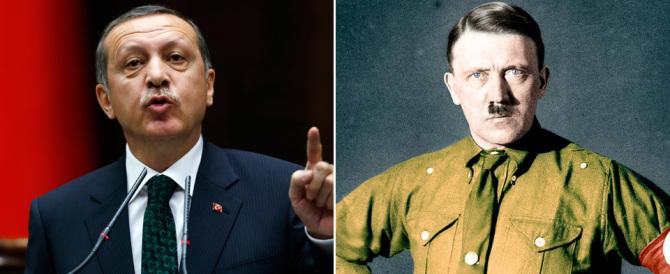 """Erdogan """"rivaluta"""" Hitler, anzi no. Ma in Turchia """"Mein Kampf"""" è libro cult"""