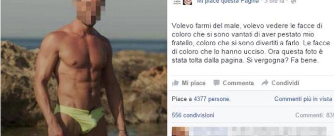 Minacce su Fb a un carabiniere del caso Cucchi: denunciata Ilaria Cucchi