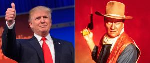 La figlia di John Wayne: «Se fosse vivo,  papà voterebbe Donald Trump»