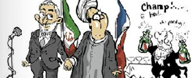 """Una vignetta di """"Le Monde"""" ridicolizza Hollande (e forse anche Renzi)"""