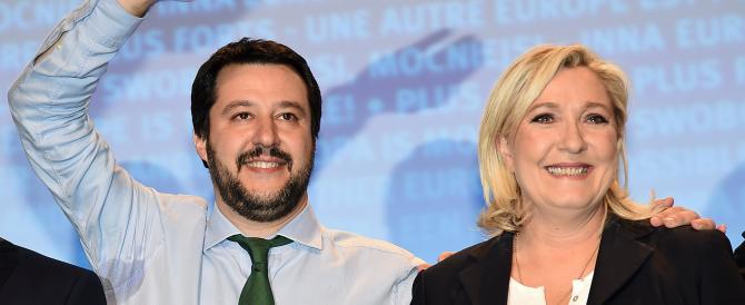 Marine Le Pen a Milano. Salvini: «Un'altra Europa è possibile»