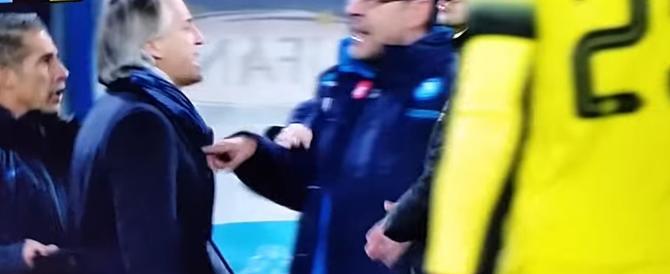 Coppa Italia, volano insulti in campo. Ma stavolta non è colpa dei tifosi…