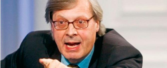 Sgarbi: «Bologna non merita i nani di sinistra. La gente si è stufata»