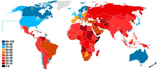 Transparency e la corruzione. Quando la situazione è grave, ma non seria