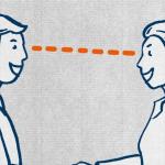 Uomini e donne si guardano negli occhi. Gli uomini, dunque, non devono far cadere lo sguardo altrove