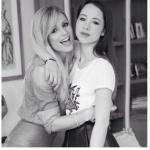 """L' """"in bocca al lupo"""" di Michelle alla figlia impegnata ad X Factor. (Foto Instagram)"""