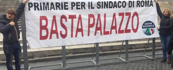 Azione Nazionale, un flash-mob per chiedere le primarie a Roma