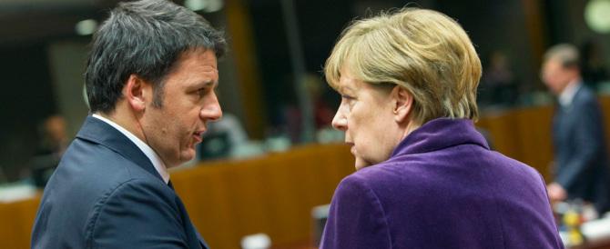"""Il bullo Renzi a Berlino. La stampa tedesca lo accusa di """"teppismo"""""""