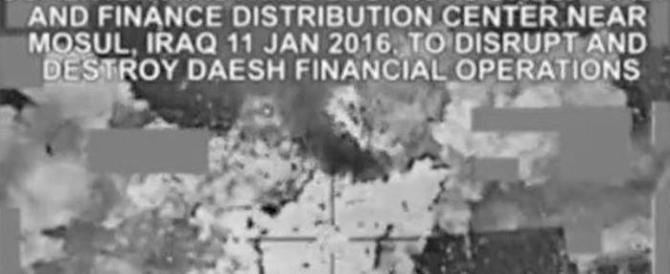 Gli Usa distruggono il deposito di zio Paperone dell'Isis: in fumo milioni