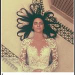 """Questa della modella Kendal Jenner con i capelli a forma di cuore ha fatto segnare il record assoluto: 3,2 milioni di """"mi piace"""".  (Foto Instagram)"""