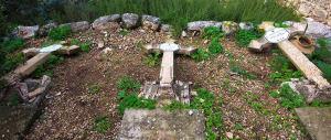 Gerusalemme, ignoti devastano il cimitero cattolico di Beit Jamal