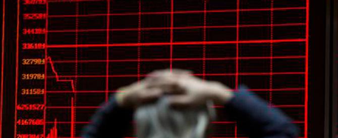 Tremano i mercati. Borse ancora giù trascinate dalla febbre cinese